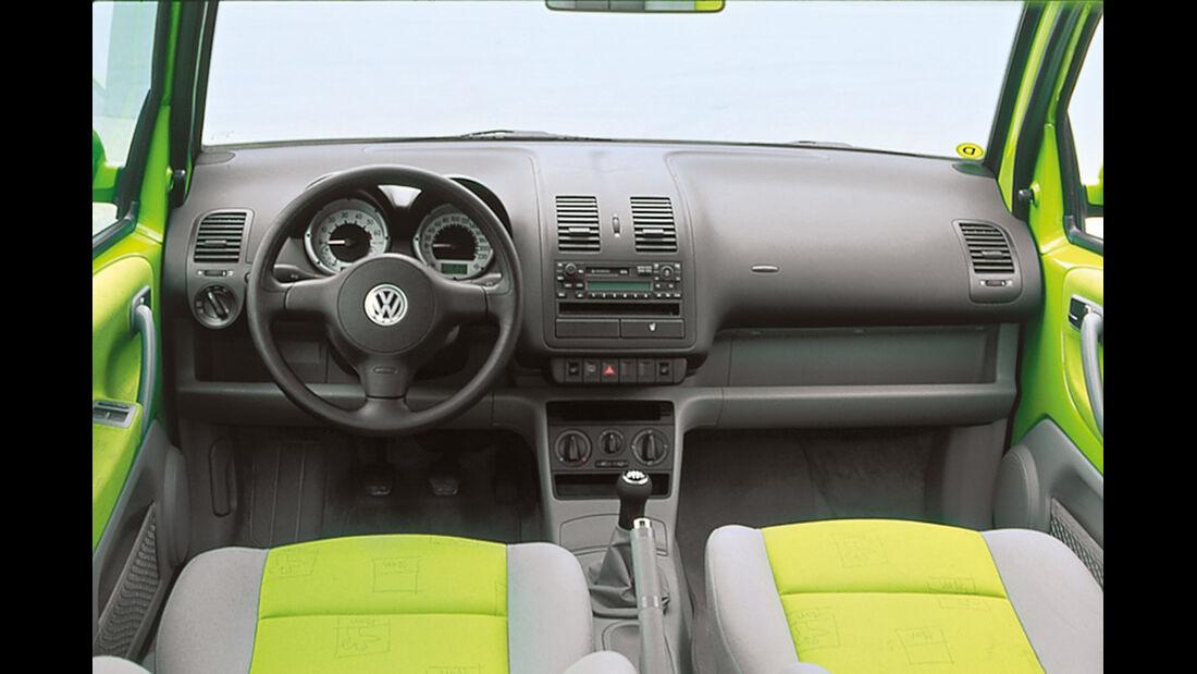 VW Lupo, Cockpit