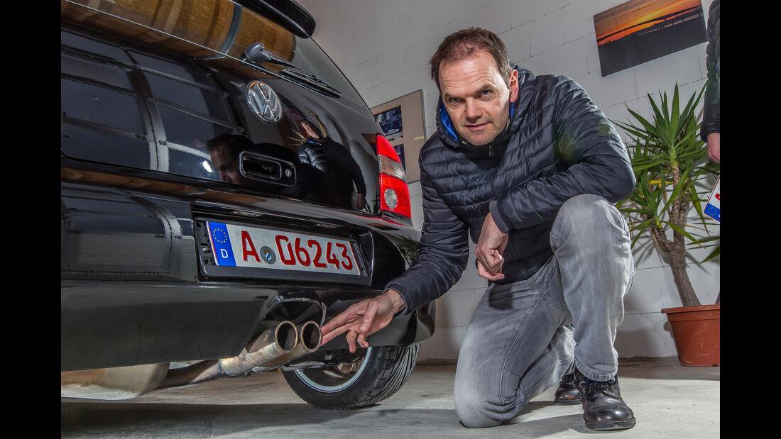 VW Lupo GTI, Endrohre