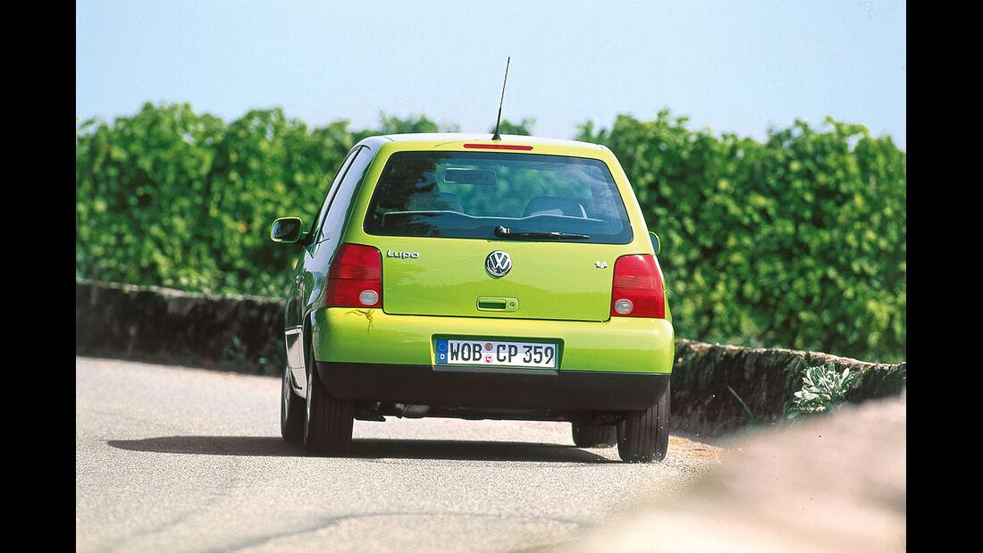 VW Lupo, Heckansicht
