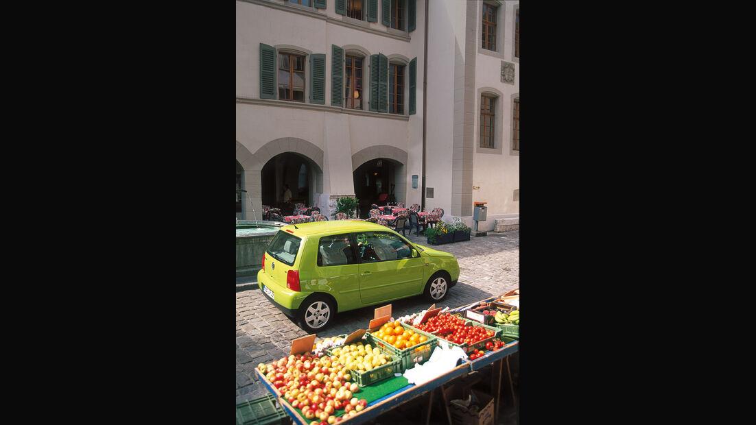 VW Lupo, Seitenansicht