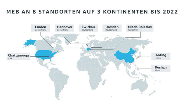 VW MEB-Standorte