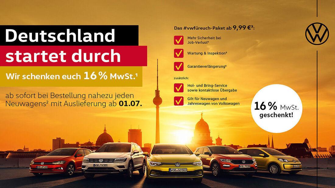 VW Mehrwertsteuer-Aktion