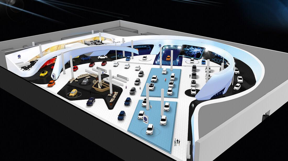 VW Messestand IAA 2013
