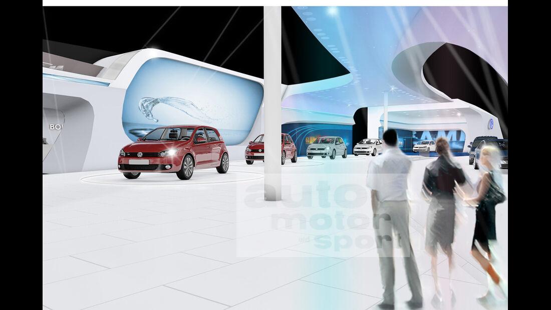 VW Messestand Paris 2012