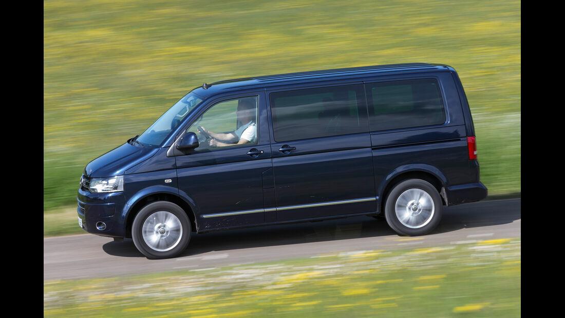 VW Multivan 2.0 BiTDI BMT, Seitenansicht