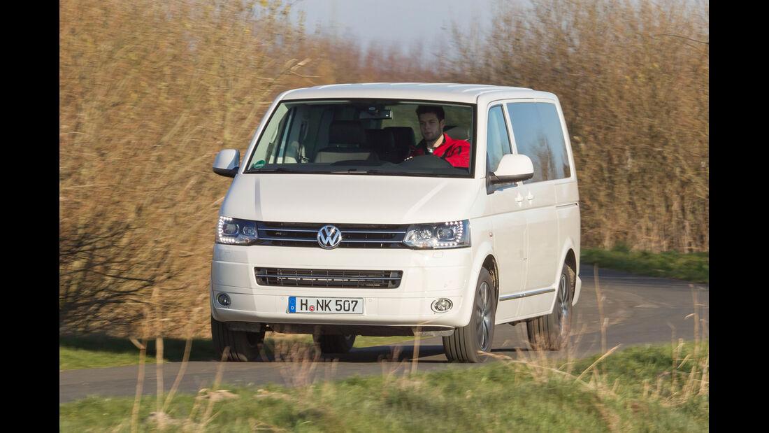 VW Multivan 2.0 BiTDI, Frontansicht