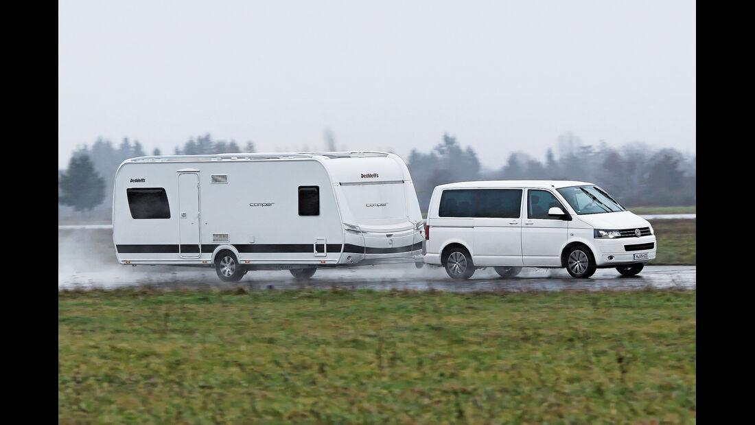 VW Multivan 2.0 BiTDI, Seitenansicht