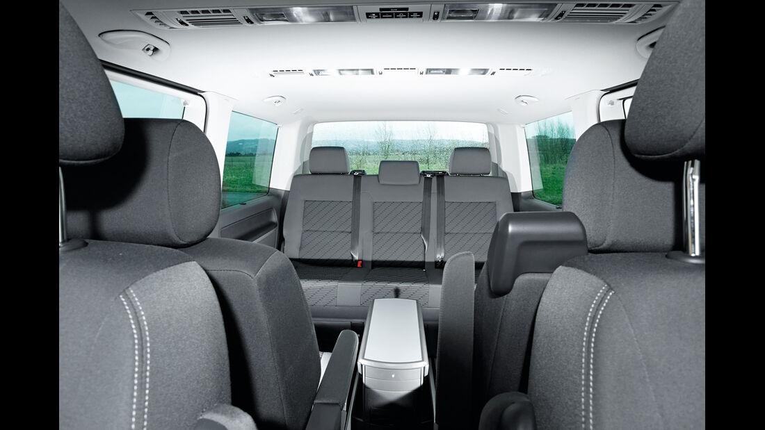 VW Multivan 2.0 BiTDI, Sitze