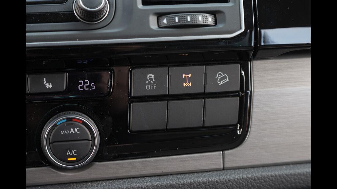 VW Multivan 2.0 TDI 4Motion, Bedienelemente