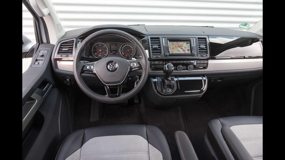 VW Multivan 2.0 TDI 4Motion, Cockpit