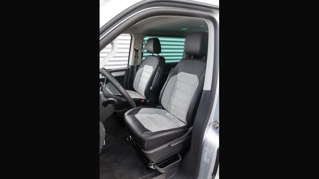 VW Multivan 2.0 TDI 4Motion, Fahrersitz