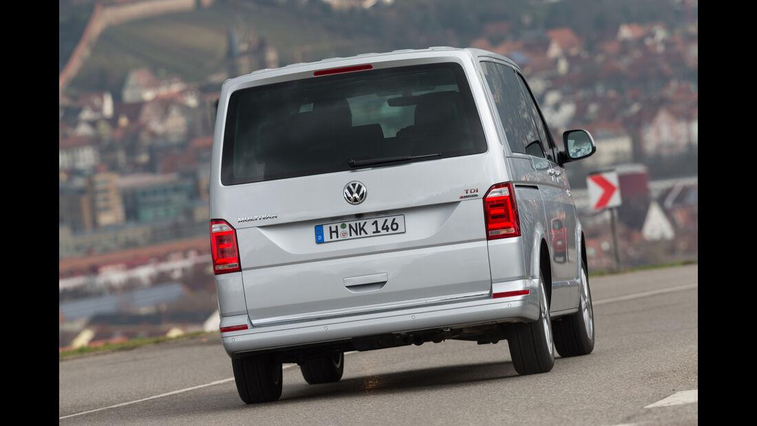 VW Multivan 2.0 TDI 4Motion, Heckansicht
