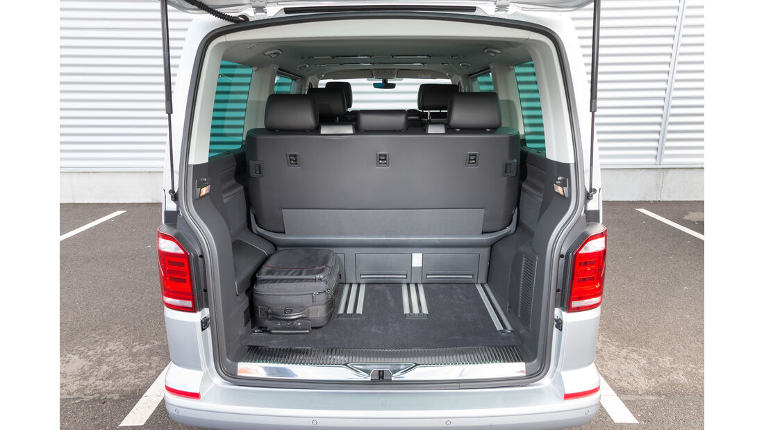 VW Multivan 2.0 TDI 4Motion, Kofferraum