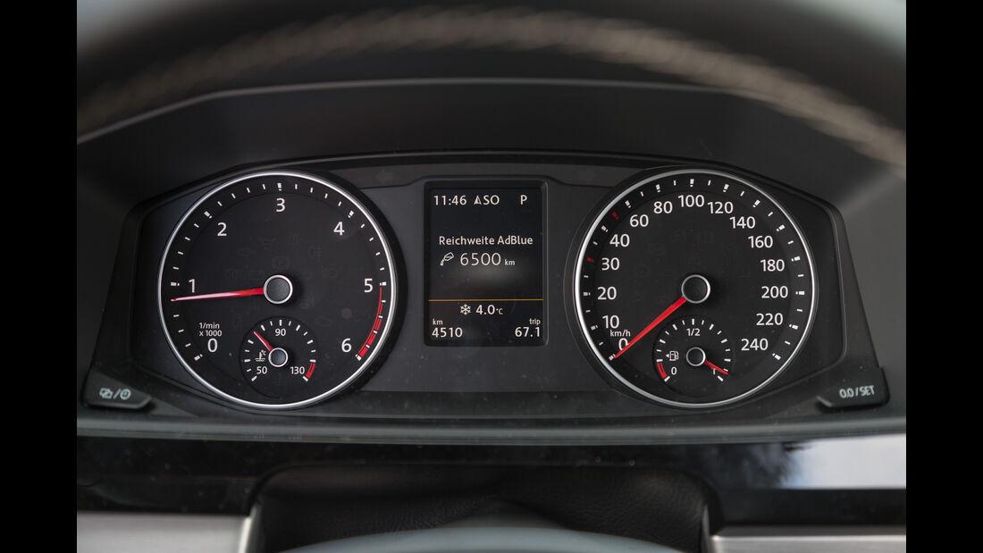 VW Multivan 2.0 TDI 4Motion, Rundinstrumente