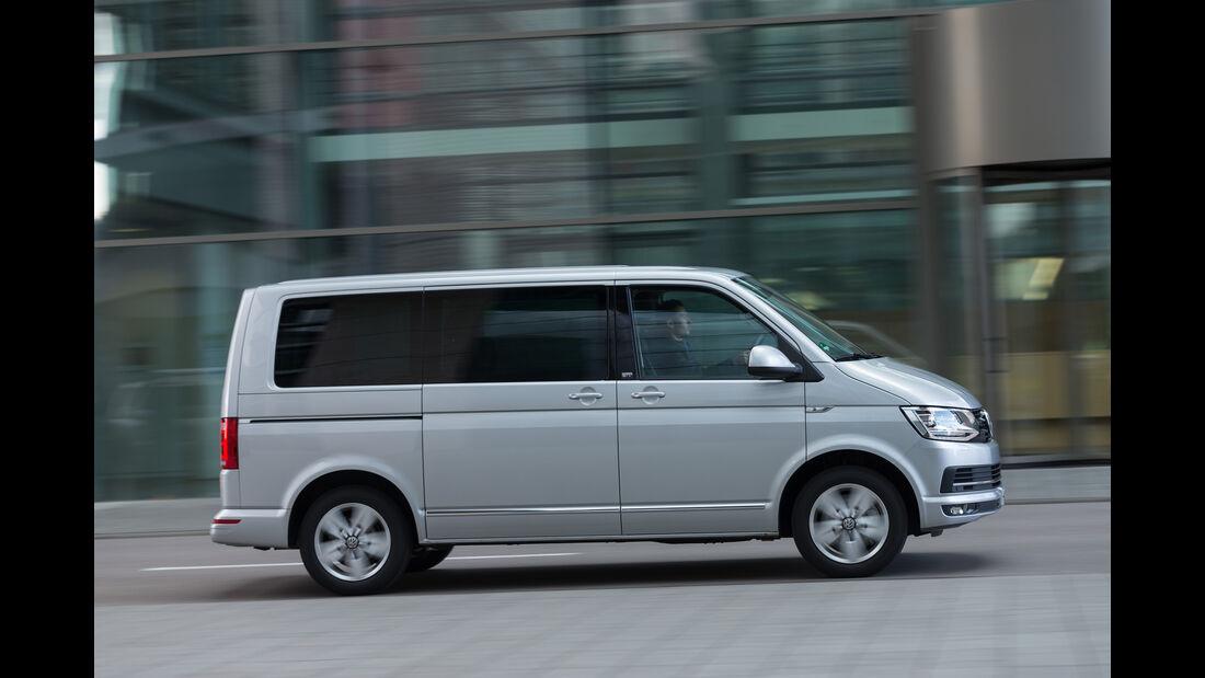 VW Multivan 2.0 TDI 4Motion, Seitenansicht