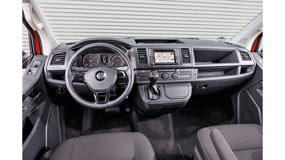 VW Multivan 2.0 TDI, Cockpit