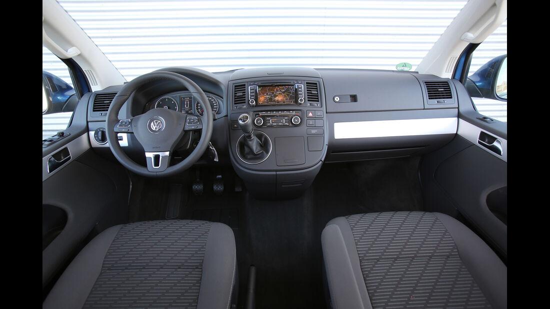 VW Multivan 2.0 TDI, Cockpit, Lenkrad
