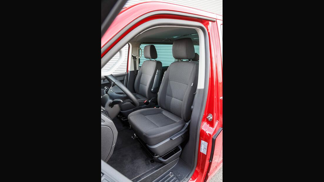 VW Multivan 2.0 TDI, Fahrersitz