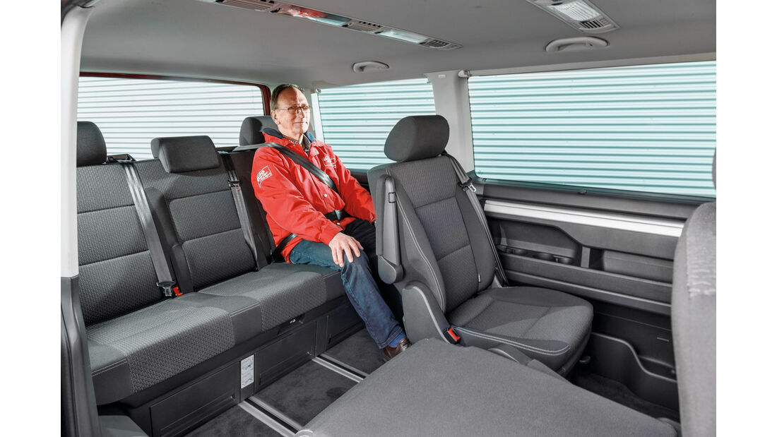 VW Multivan 2.0 TDI, Fondsitze