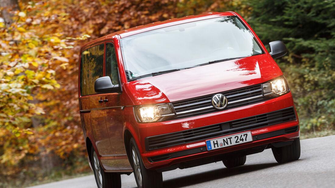 VW Multivan 2.0 TDI, Frontansicht