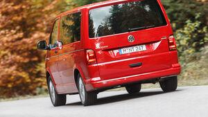 VW Multivan 2.0 TDI, Heckansicht
