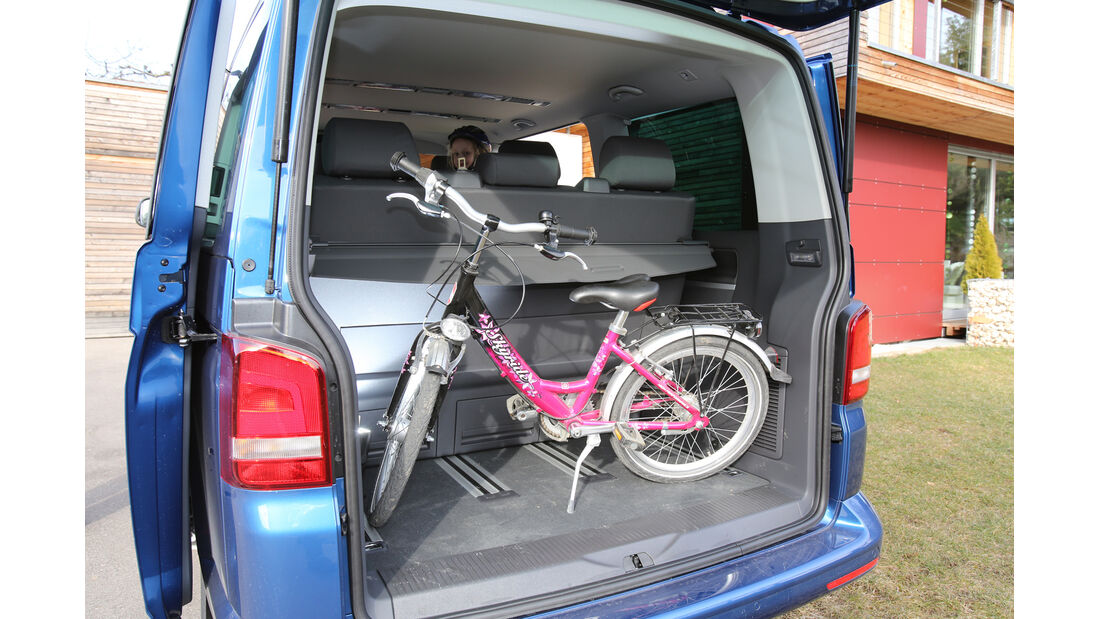 VW Multivan 2.0 TDI, Kofferraum