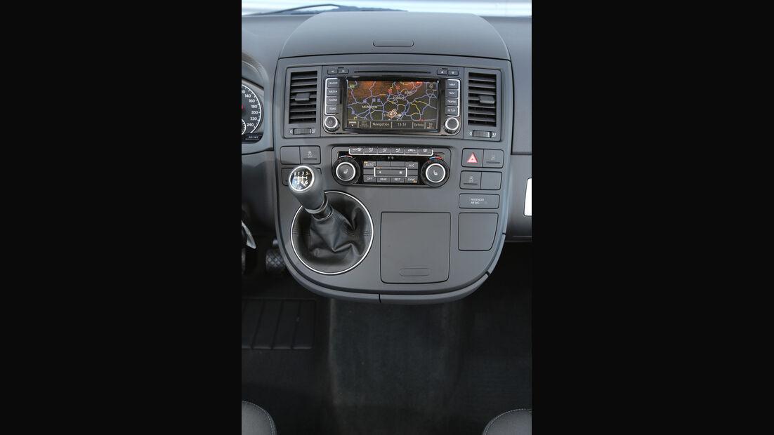 VW Multivan 2.0 TDI, Mittelkonsole