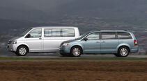 VW Multivan, Chrysler Grand Voyager
