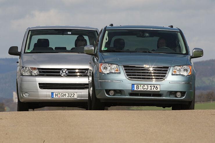 VW Multivan, Chrysler Grand Voyager