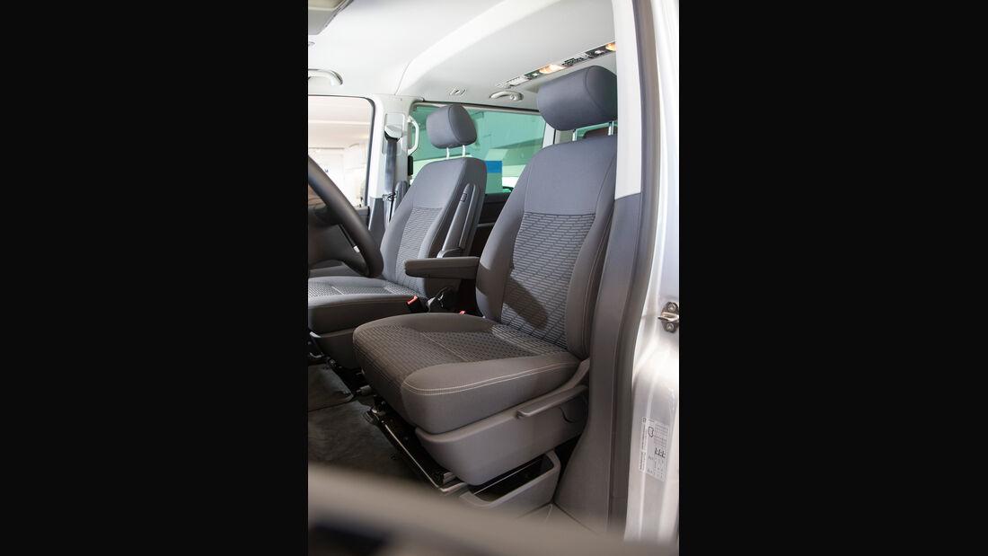 VW Multivan, Fahrersitz