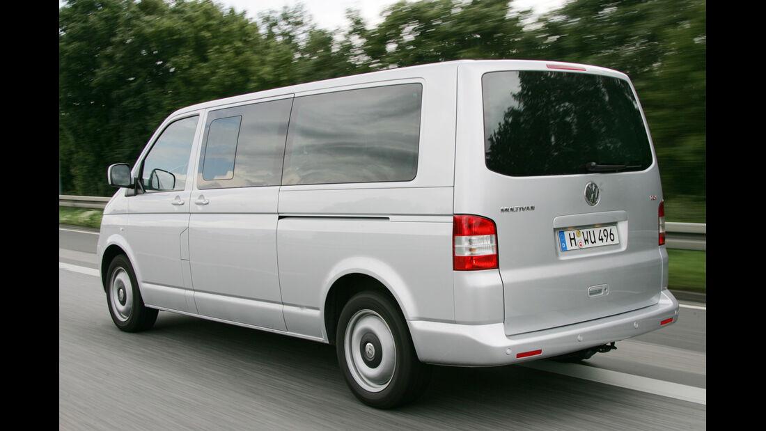 VW Multivan, Heckansicht