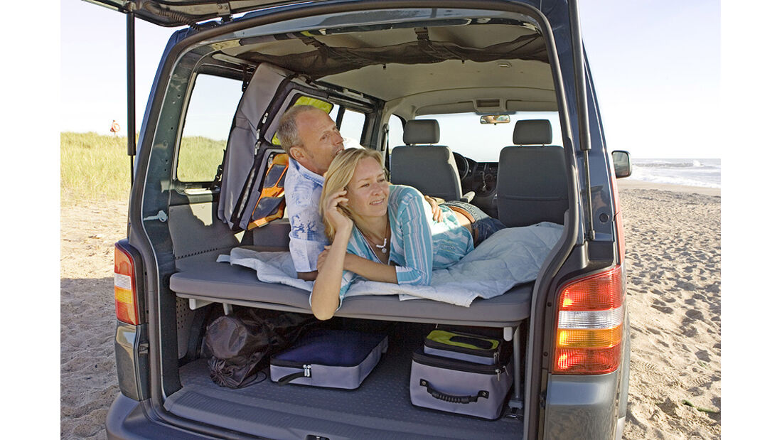 VW Multivan Innenraum, Heck