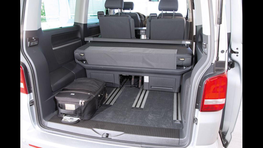 VW Multivan, Kofferraum