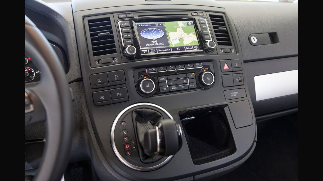 VW Multivan, Mittelkonsole