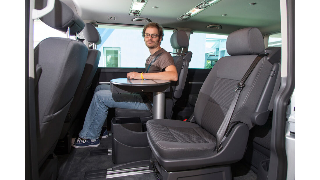 VW Multivan, Rücksitz