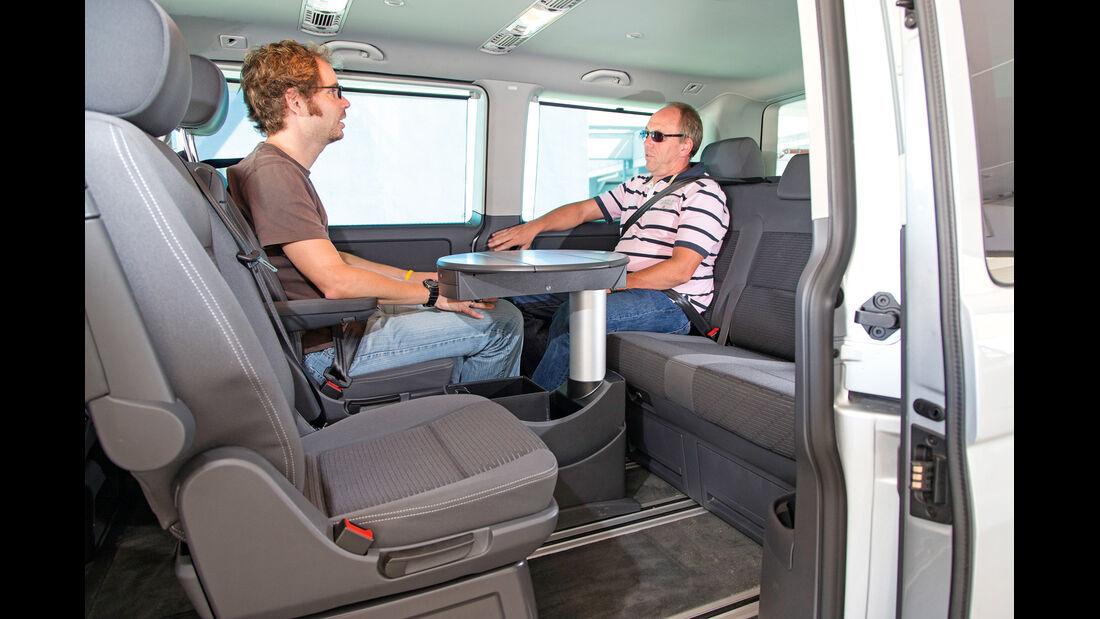 VW Multivan, Sitzgruppe