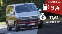 VW Multivan T6.1 Kosten Realverbrauch Test