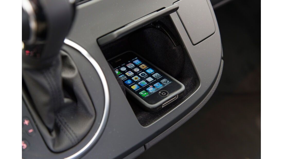 VW Multivan, USB-Anschluss