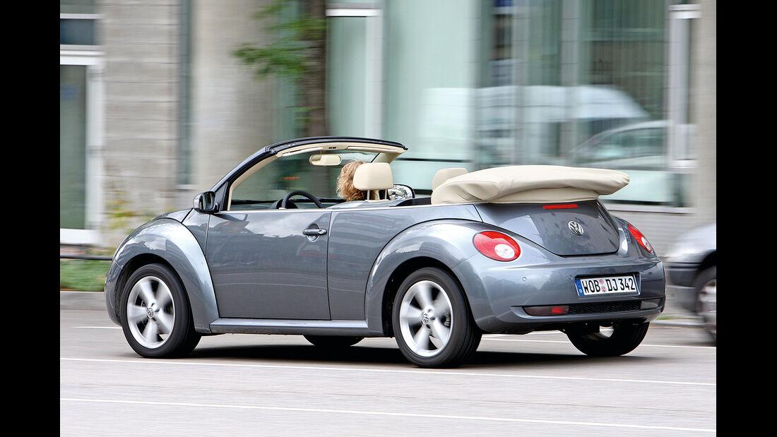 VW New Beetle Cabrio 1.6, Heckansicht