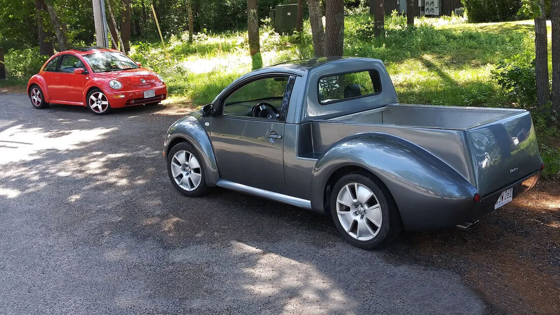 VW New Beetle Pickup Umbau