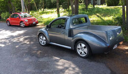 VW New Beetle Pickup Umbau