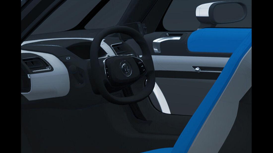 VW Nils,  Innenraum