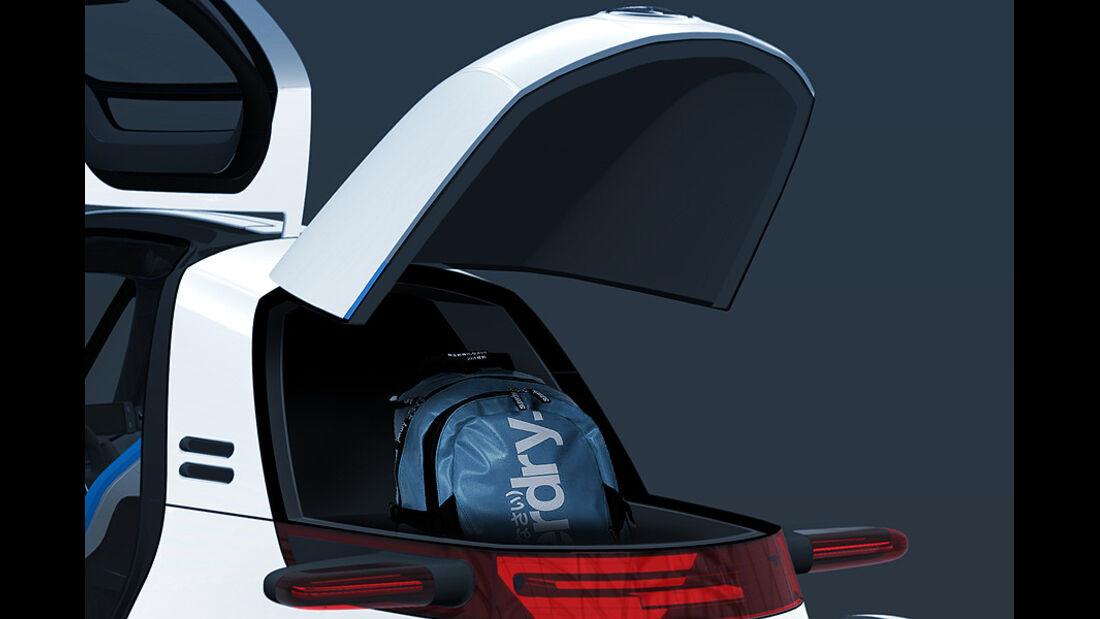 VW Nils,  Kofferraum