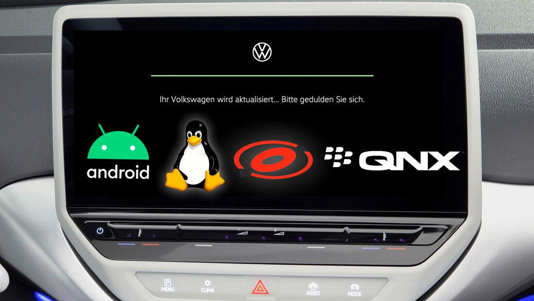 VW.OS Betriebssystem Cariad