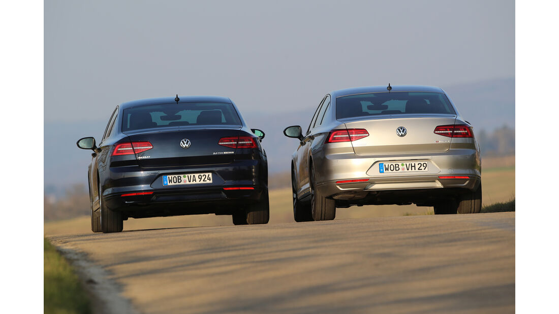 VW Passat 1.4 TSI ACT gegen VW Passat 2.0 TDI