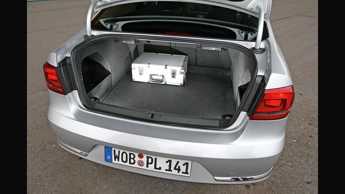 VW Passat 1.6 TDI Bluemotion, Kofferraum