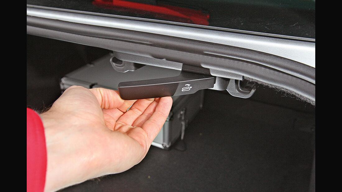 VW Passat 1.6 TDI Bluemotion, Rücksitz-Entriegelung