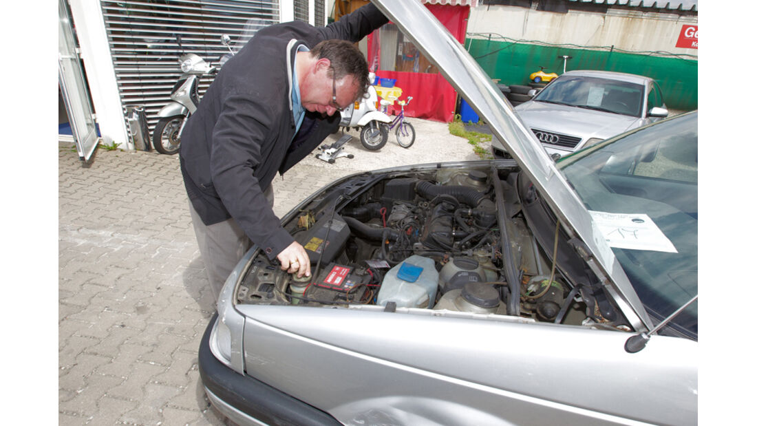 VW Passat 1.8 GL, Motor, Alf Cremers