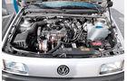 VW Passat 1.8 GL, Motor, Motorraum