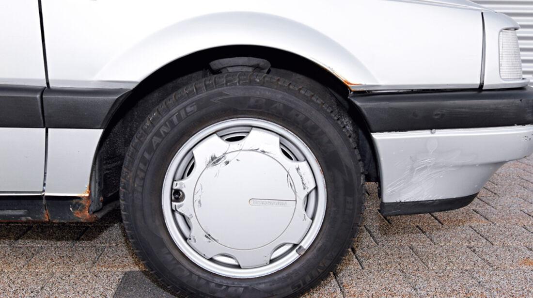 VW Passat 1.8 GL, Vorderrad, Felge